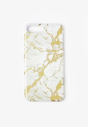 Missguided White Marble Foil Iphone 7 Case Multi