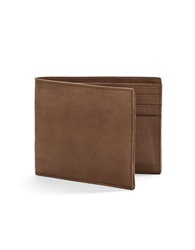 John Varvatos U.S.A. Slim Leather Billfold Wallet Brown