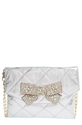 Deux Lux 'Forever' Quilted Bow Clutch
