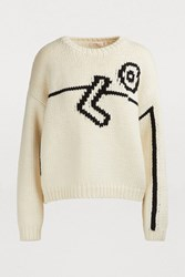 Tory Burch Oversized Sweater New Ivory