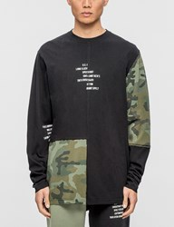10.Deep Surplus Camo L S T Shirt