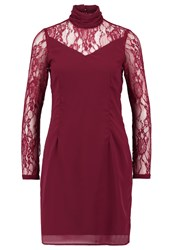 Vero Moda Vmflirting Summer Dress Zinfandel Dark Red