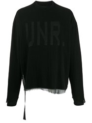 Unravel Project Oversized Logo Sweatshirt 60