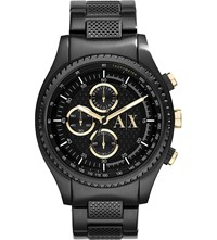 Armani Exchange Ax1604 Stainless Steel Watch Black