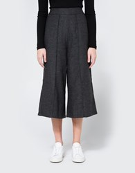 Farrow Ruth Herringbone Pant Charcoal