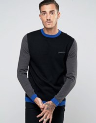 Lambretta Knitted Jumper Black