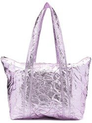 Sies Marjan Creased Shopper Tote Pink
