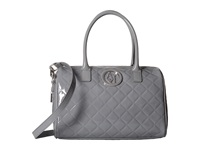 Armani Jeans Quilted Patent Satchel