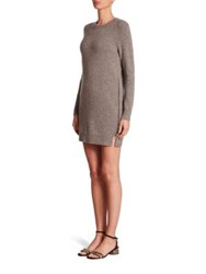 Marc Jacobs Side Zip Sweater Dress Grey