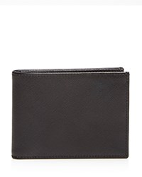 The Men's Store At Bloomingdale's Saffiano Bifold Wallet Black