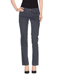Nicwave Trousers Casual Trousers Women Grey