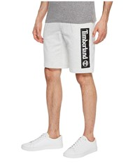 Timberland Jogger Shorts Micro Chip Heather Linear White