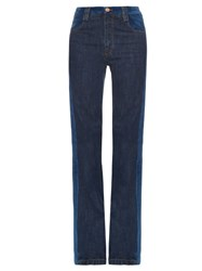 See By Chloe Mid Rise Flared Jeans Indigo