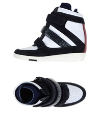 Dirk Bikkembergs High Tops And Trainers Dark Blue