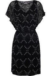 Antik Batik Balty Embellished Chiffon Dress Black