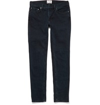 Acne Studios Ace Slim Fit Denim Jeans Blue