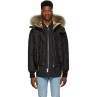 Mackage Black Lux Dixon Jd Down Jacket