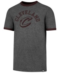 47 Brand '47 Men's Cleveland Cavaliers Capital Ringer T Shirt Gray