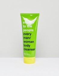 Anatomicals Shower To The People Lime Shower Gel 250Ml Clear