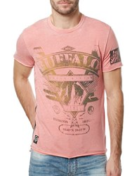 Buffalo David Bitton Metallic Graphic Tee Cruise