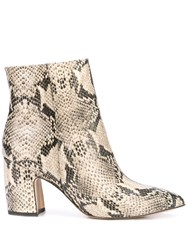 Sam Edelman Hilty Ankle Boots White