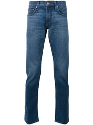 J Brand Tyler Slim Fit Jeans Men Cotton Polyurethane 36 Blue