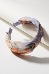 Anthropologie Spring Blooms Headband Mauve