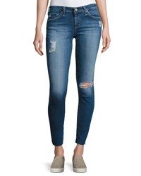 Ag Jeans The Legging Ankle 18 Years Artist Medium Blue