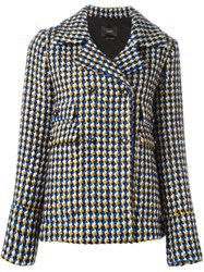 Odeeh Double Breasted Jacket Multicolour