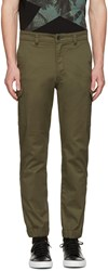 Diesel Green Chi United Cargo Trousers