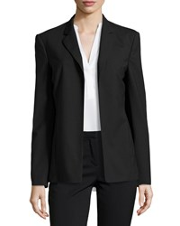 Halston Heritage Slim Open Front Jacket Black