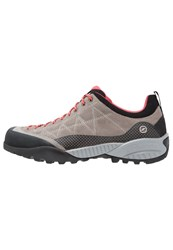 Scarpa Zen Pro Walking Shoes Taupe Coral Red Beige
