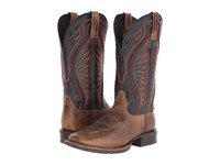 Ariat Rodeo Warrior Shadow Brown Silver Stream Cowboy Boots
