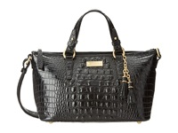 Brahmin Mini Asher Black Satchel Handbags