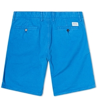 Norse Projects Aros Light Twill Short California Blue