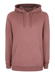 Topman Purple Soft Touch Classic Fit Hoodie