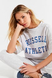 Russell Athletic Dukes Short Sleeve Sweatshirt Grey