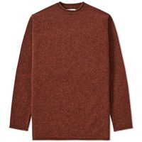Mhl By Margaret Howell Mhl. Rolled Edge Crew Knit Orange