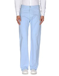 Replay Trousers Casual Trousers Men Sky Blue