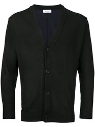 En Route Button Up Cardigan Black