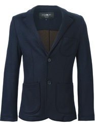 Hydrogen Front Pocket Blazer Blue
