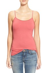 Junior Women's Bp. Stretch Camisole Red Holly