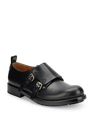Valentino Double Monk Leather Shoes Al Campion