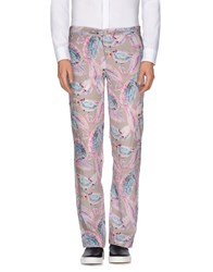 Mosaique Trousers Casual Trousers Men Light Grey
