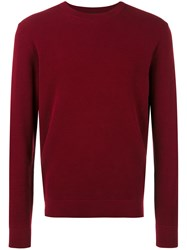 Paul Smith Ps By Round Neck Jumper Red