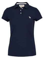 Abercrombie And Fitch Polo Shirt Navy Dark Blue