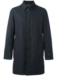 Herno Buttoned Raincoat Black