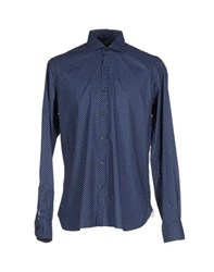 Orian Shirts Shirts Men Dark Blue