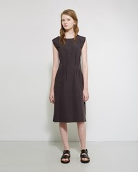 Margaret Howell Shift Dress Off Black