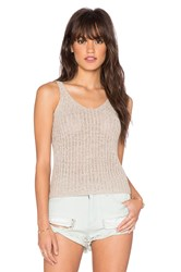 Wilde Heart Summer Days Tank Taupe